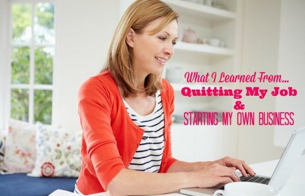 What I learned from quitting my job