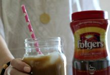 With just a few ingredients and a little time, you can whip up your own iced coffee at home for a fraction of the cost. Plus, add as little or as much ice as you want. (And no one get sued...)