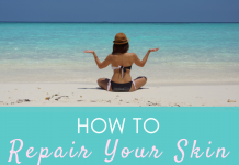 How to repair your skin after a beach or ski holiday