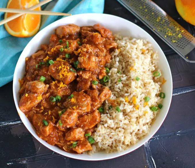 orange chicken instant pot