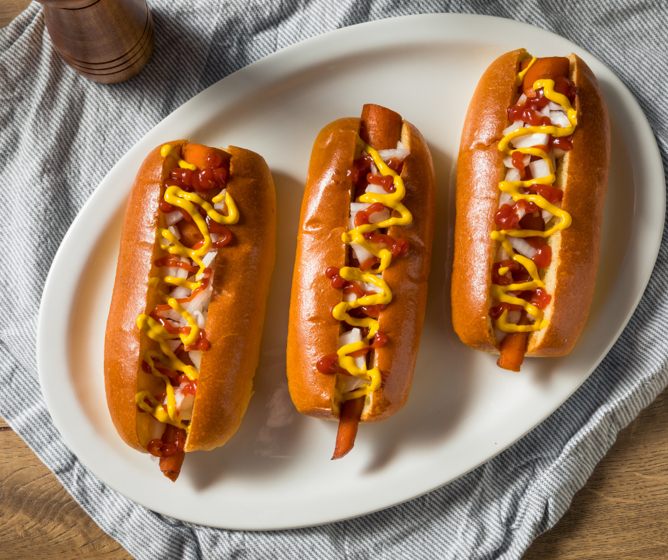 veggie hot dogs, vegan hot dogs, vegan hot dog recipe